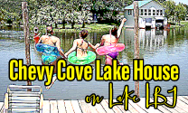 Chevy Cove Lake House on Lake LBJ