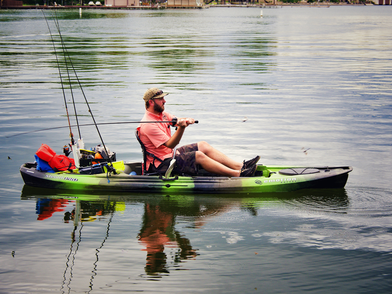 Fishing the Highland Lakes without a motor