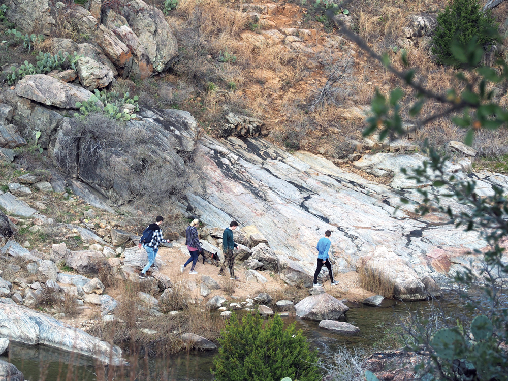 Last and First Day hikes at Texas state parks