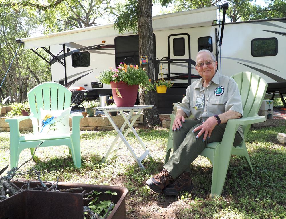 Park hosts make for happy campers
