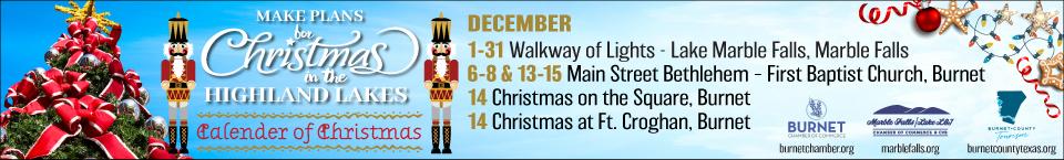 Marble Falls Christmas Lights 2020 Marble Falls Walkway of Lights